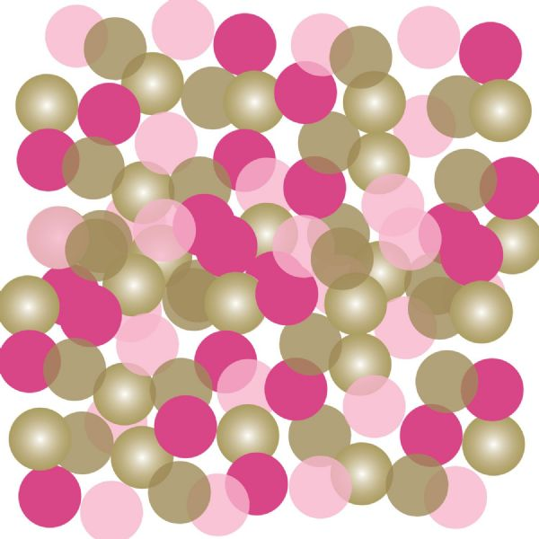 Pink First Holy Communion Confetti 14g